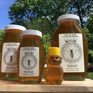 Local Raw Clover Honey