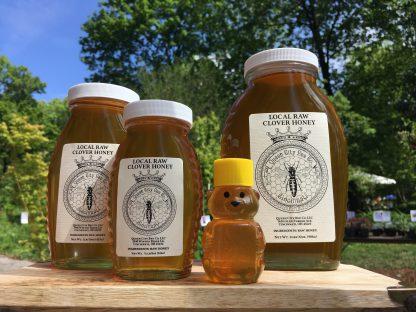 Local Raw Clover Honey