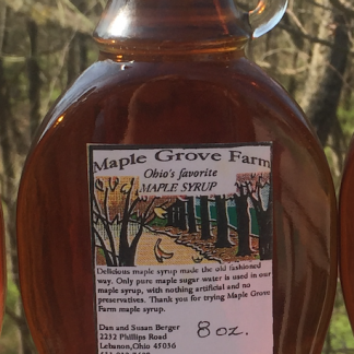 Maple Grove Farm Ohio Maple Syrup - Amber/rich Grade A