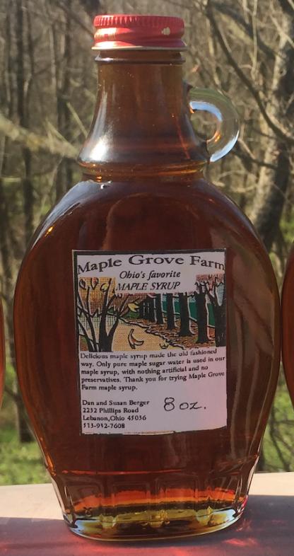 Maple Grove Farm Ohio Maple Syrup - Amber/rich Grade A