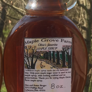 Maple Grove Farm Ohio Maple Syrup - Dark/Robust Grade A