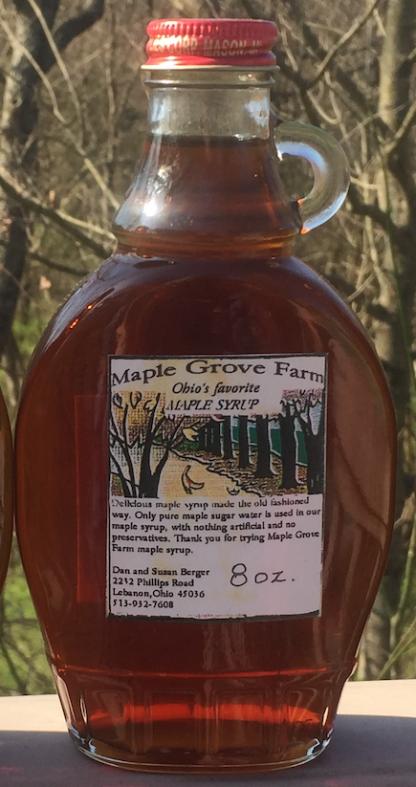 Maple Grove Farm Ohio Maple Syrup - Dark/Robust Grade A